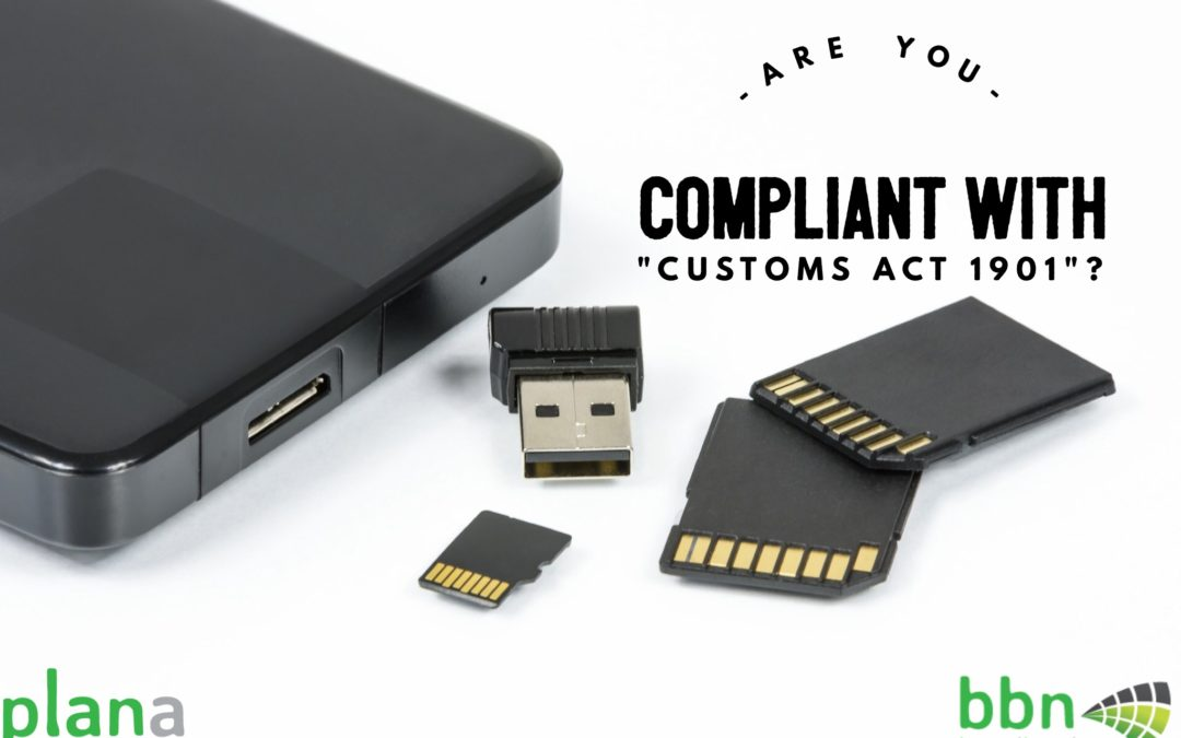 "Are you Compliant with ""Customs Act 1901"" ?"